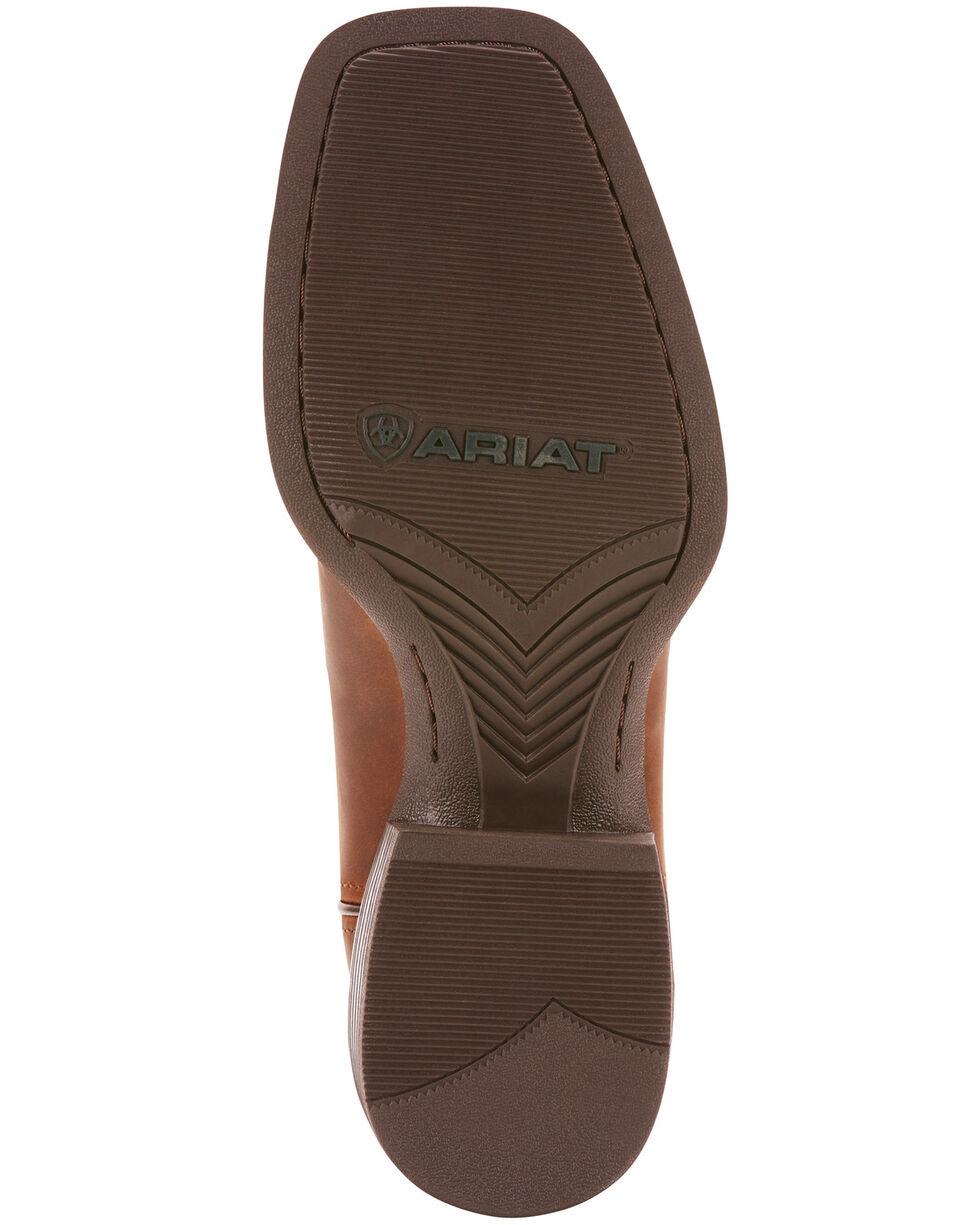 Ariat Men's Sport Hustler Western Boots - Square Toe, Brown, hi-res