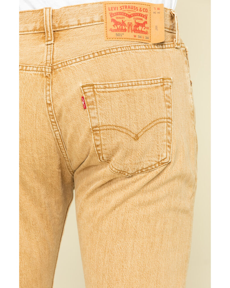 Levi's Men's Tan Desert Woods Original Stretch Fit Jeans , Tan, hi-res