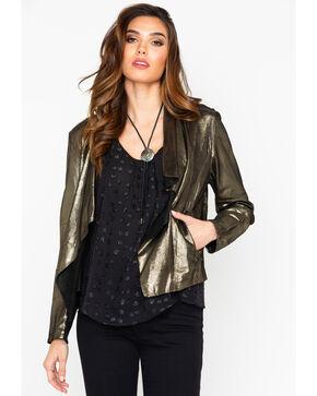 Tasha Polizzi Women's Stardust Shrug Jacket , Bronze, hi-res