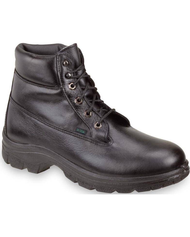 "Thorogood Men's 6"" Waterproof & Insulated Postal Certified Sport Boots, Black, hi-res"
