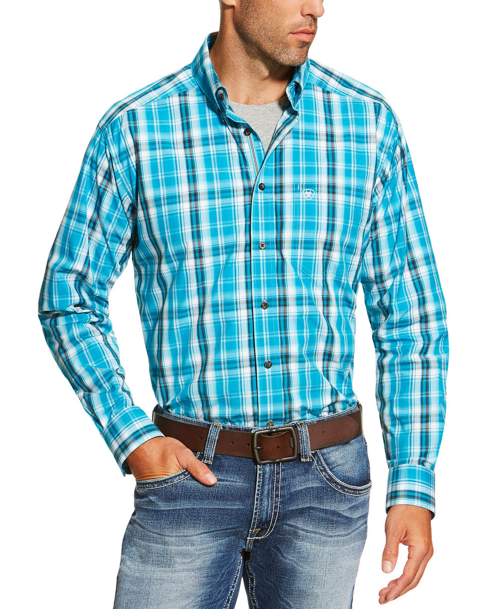 Ariat Men's Multi Long Sleeve Everett Shirt , Multi, hi-res