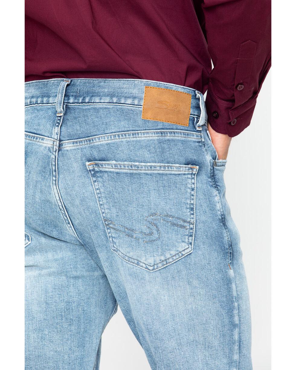 Silver Jeans Men's Grayson Light Wash Jeans, Indigo, hi-res