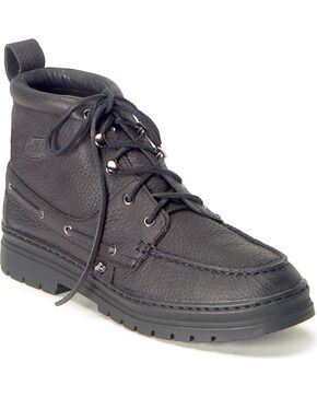 Justin Men's Casual Chukka Shoes, Black, hi-res