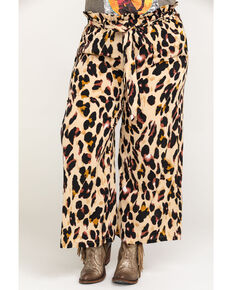 Flying Tomato Women's Leopard Pants - Plus, Leopard, hi-res