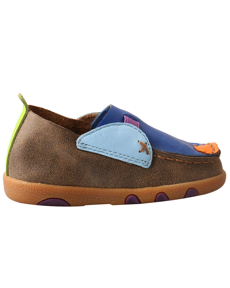 Twisted X Infant Boys' Bomber Driving Shoes - Moc Toe, , hi-res