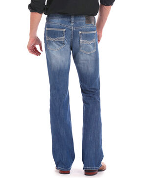 Rock & Roll Cowboy Men's ReFlex Pistol Jeans - Boot Cut , Indigo, hi-res