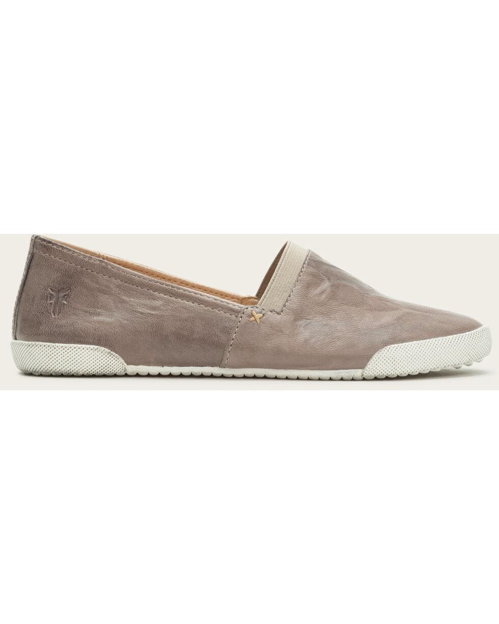 Frye Women's Grey Melanie Slip On Shoes , Grey, hi-res