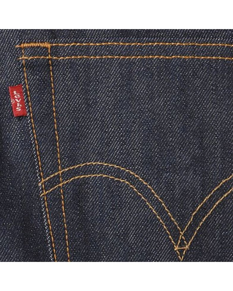 Levi's Men's 501 Original Shrink-to-Fit Regular Straight Leg Jeans, Indigo, hi-res