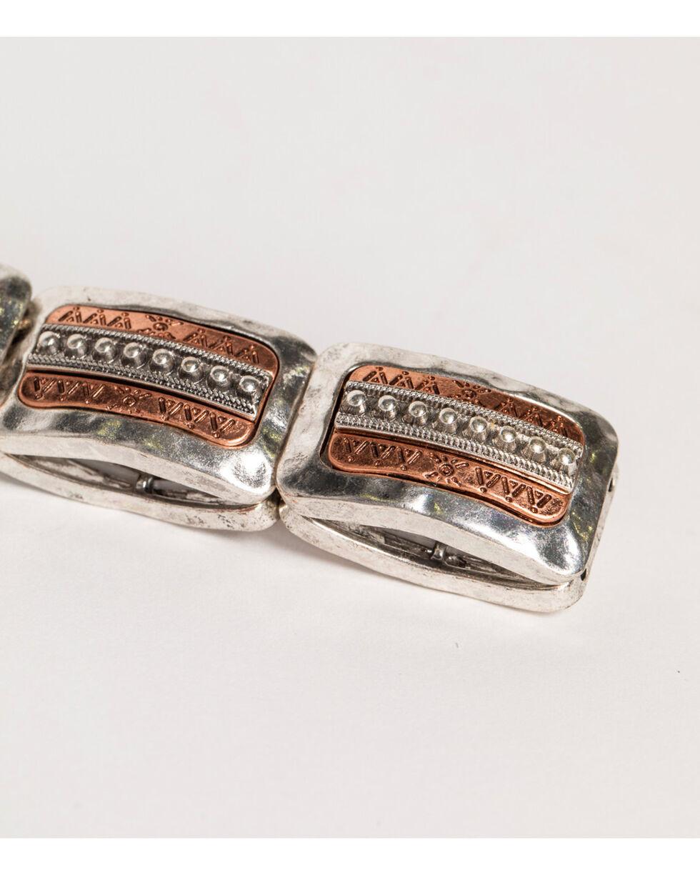Shyanne Women's Adilene Silver Stretch Bracelet, Silver, hi-res