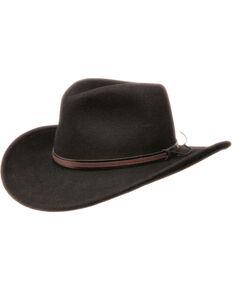 Black Creek Men s Black Crushable Wool Hat 40167bc2b580
