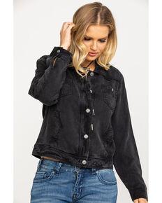 Ariat Women's August Trucker Jacket, Grey, hi-res