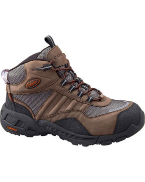 Carolina Men's Aero Trek Hiking Boots, Brown, hi-res