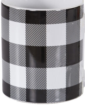 HiEnd Accents Buffalo Check Design Mug Set, Black, hi-res