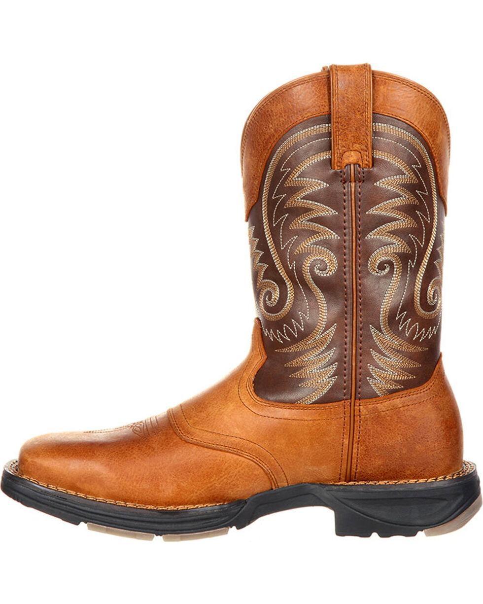 Durango Men's Ultra Lite Saddle Western Boots, Brown, hi-res