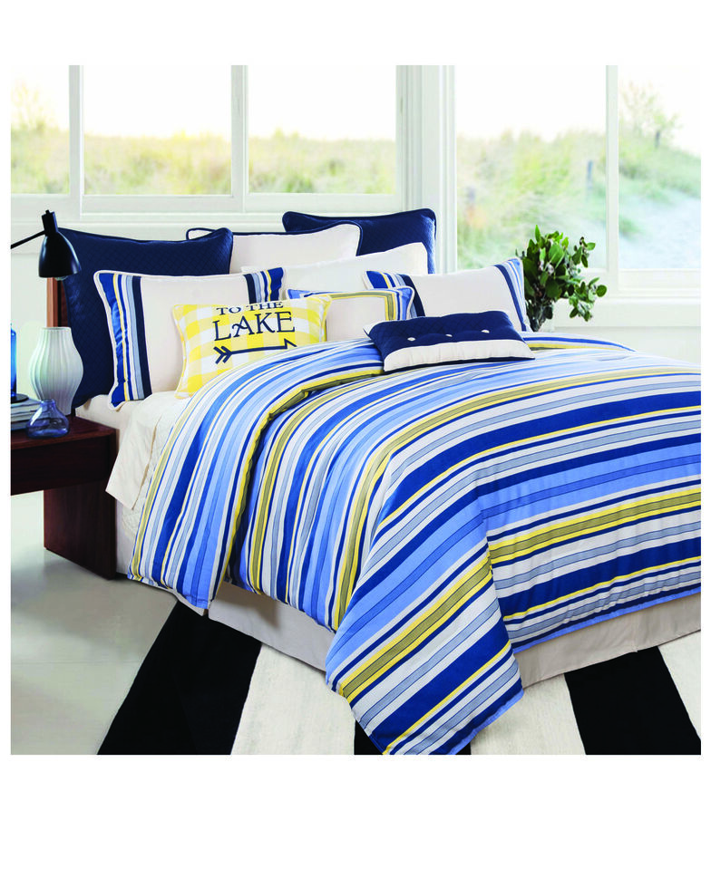 HiEnd Accents Super Queen Beaufort Bedding Set , Multi, hi-res