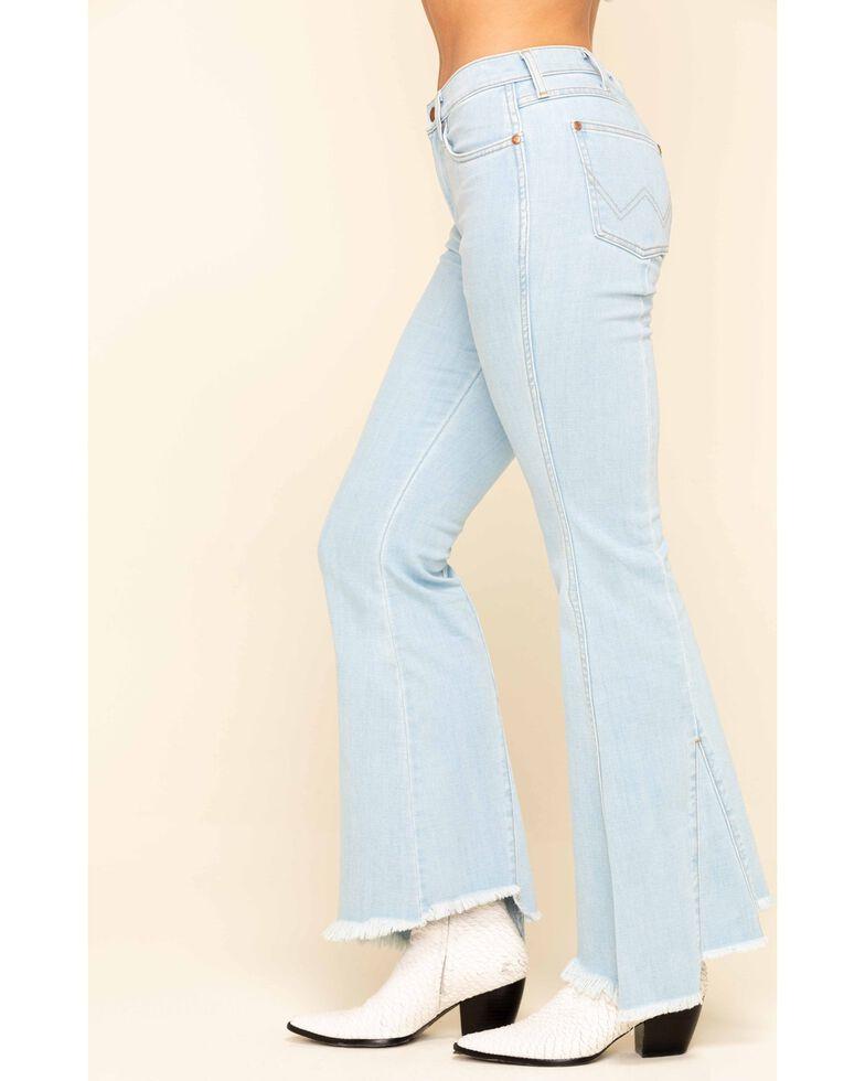 Wrangler Modern Women's Abilene High Rise Flare Jeans, Blue, hi-res