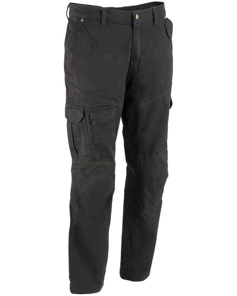 "Milwaukee Performance Men's 34"" Aramid Reinforced Black Cargo Jeans, , hi-res"
