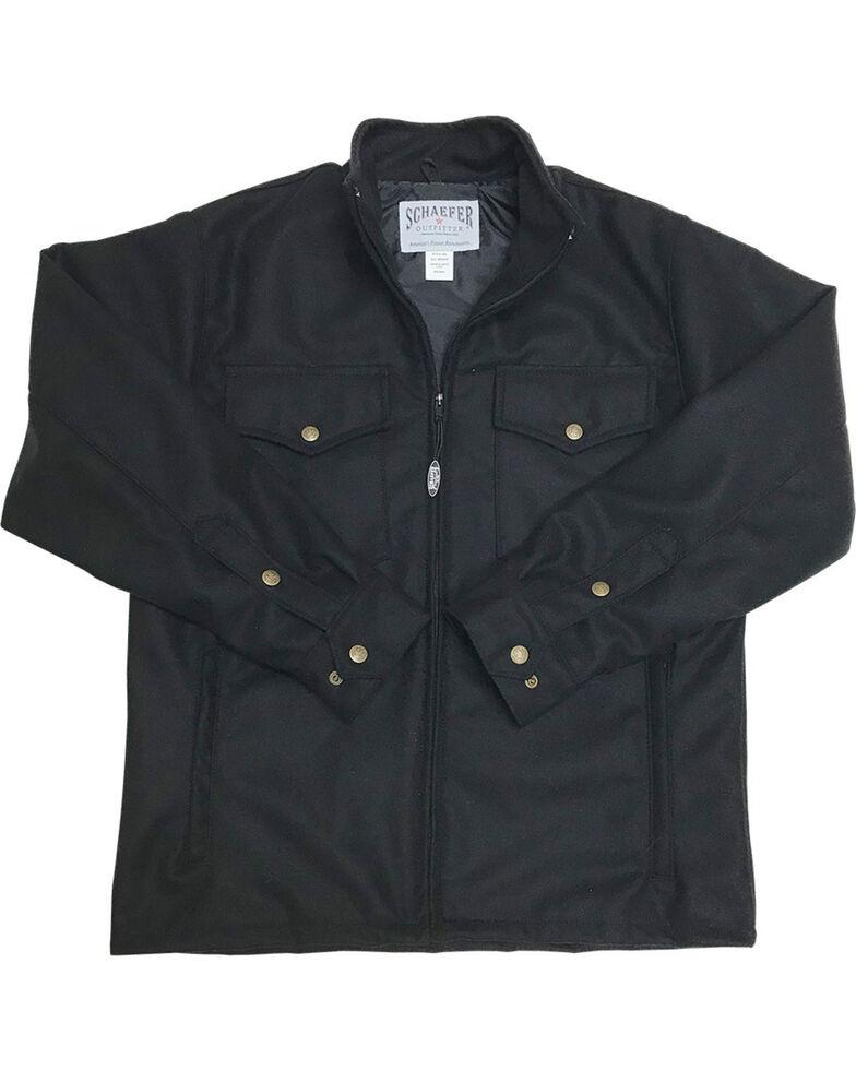 Schaefer Outfitter Men's 564 Austin Wool Jacket, Black, hi-res