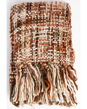 BB Ranch Missy Throw Blanket, Multi, hi-res