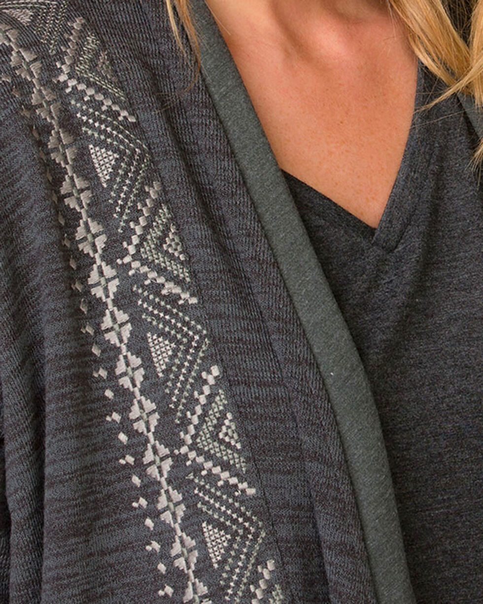 Miss Me Women's Aztec Bordered Open Cardigan, , hi-res