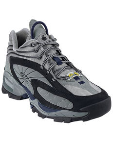 Nautilus Men's Grey ESD Athletic Work Shoes - Steel Toe, Grey, hi-res