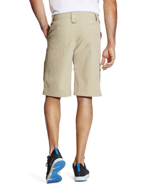 Ariat Men's Tek Cargo Shorts, Beige/khaki, hi-res
