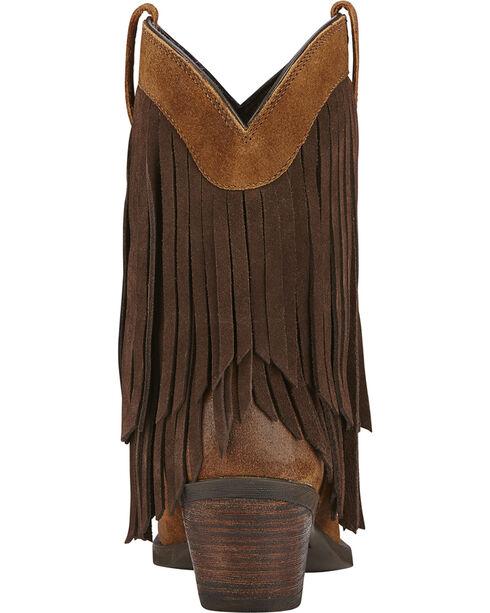 Ariat Women's Gold Rush Western Boots, Mocha, hi-res