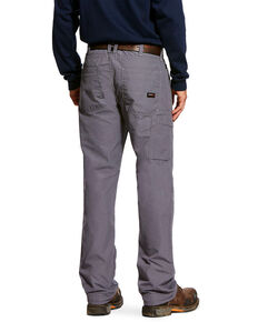 Ariat Men's FR M4 Duralight Ripstop Work Pants , Grey, hi-res