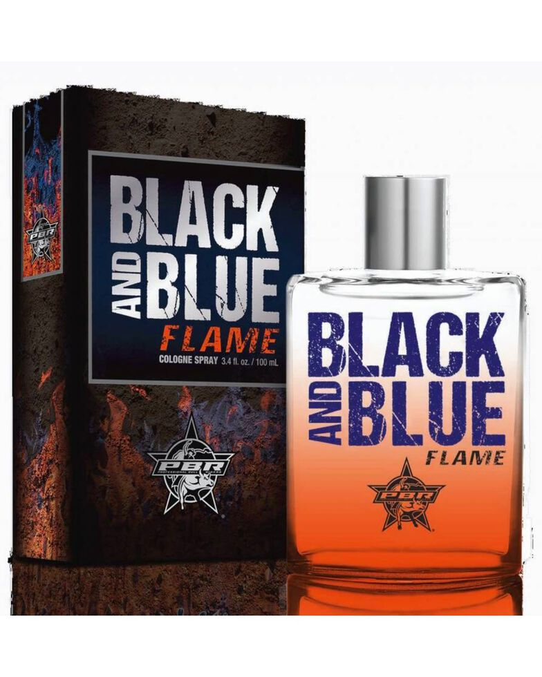 Tru Fragrances Men's PBR Black & Blue Flame Cologne, No Color, hi-res