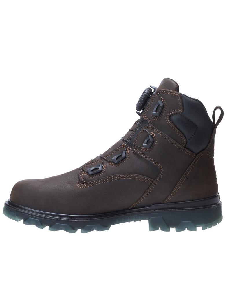 Wolverine Men's I-90 EPX Waterproof Work Boots - Composite Toe, Dark Brown, hi-res