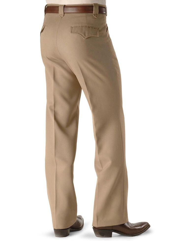 Circle S Men's Lubbock Stretch Slacks, Khaki, hi-res