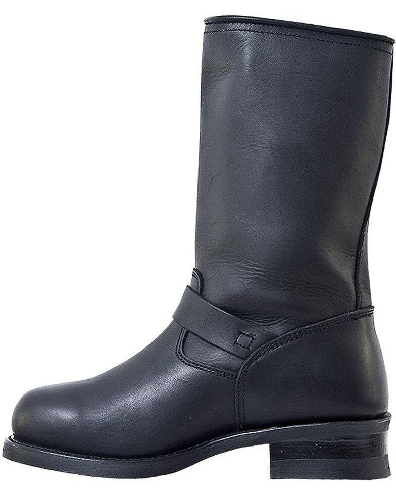 Dingo Men's Rob Engineer Motorcycle Boots, Black, hi-res