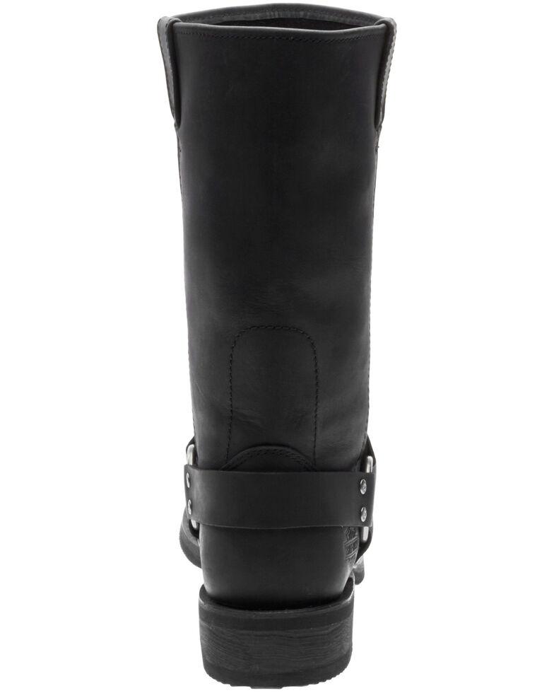 Harley Davidson Men's Bowden Moto Boots - Square Toe, Black, hi-res
