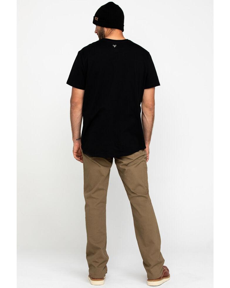 Ariat Men's Khaki Rebar M4 Made Tough Durastretch Straight Leg Work Pants , Beige/khaki, hi-res