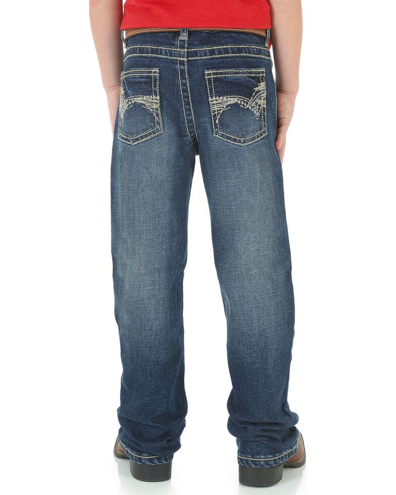 Wrangler Boy's 20X Vintage No. 42 Boot Cut Jeans, Blue, hi-res