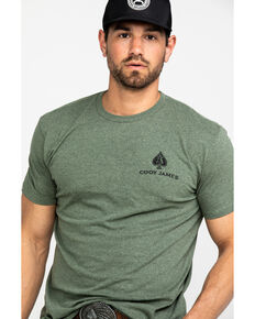 Cody James Men's Spade Graphic T-Shirt , Green, hi-res