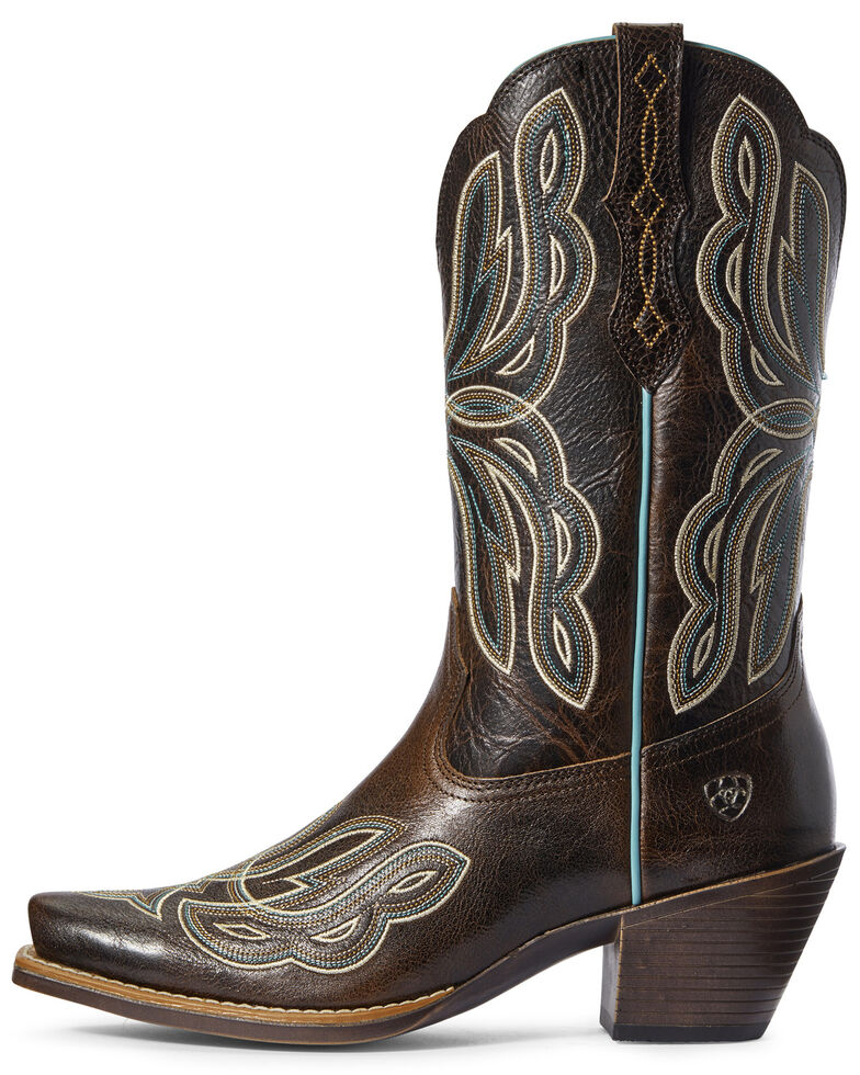 Ariat Women's Mirabelle Western Boots - Snip Toe, Brown, hi-res