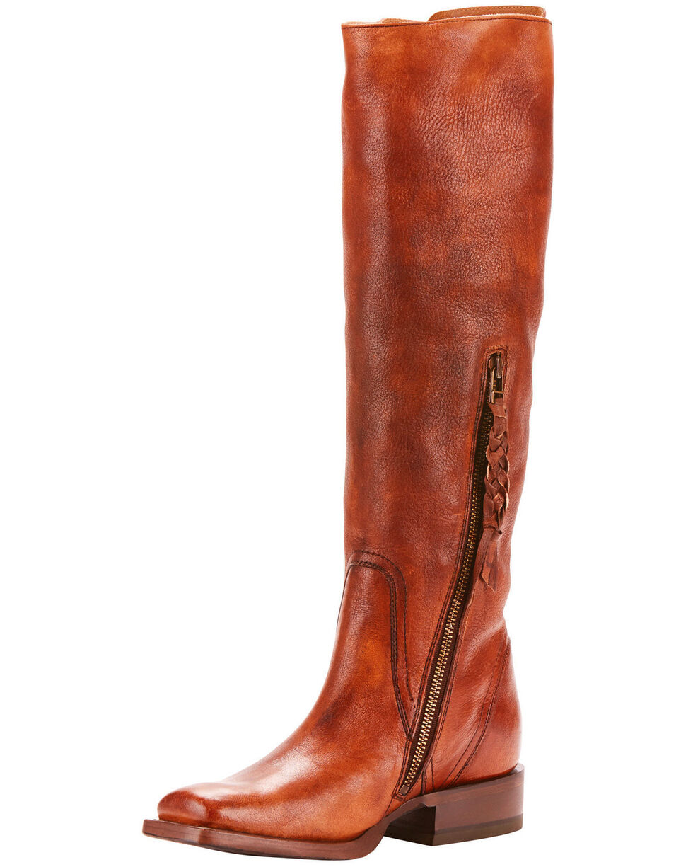 Ariat Women's Sawyer Lace Up Western Fashion Boots - Square Toe, , hi-res