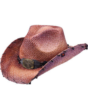 Peter Grimm Women's Revelation Cowboy Hat, Brown, hi-res