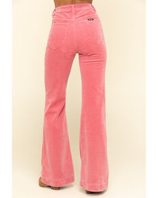 Rolla's Women's Rose Corduroy East Coast Flares , Rose, hi-res
