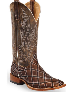 Horse Power by Anderson Bean Men's Sabotage Western Boots, Brown, hi-res