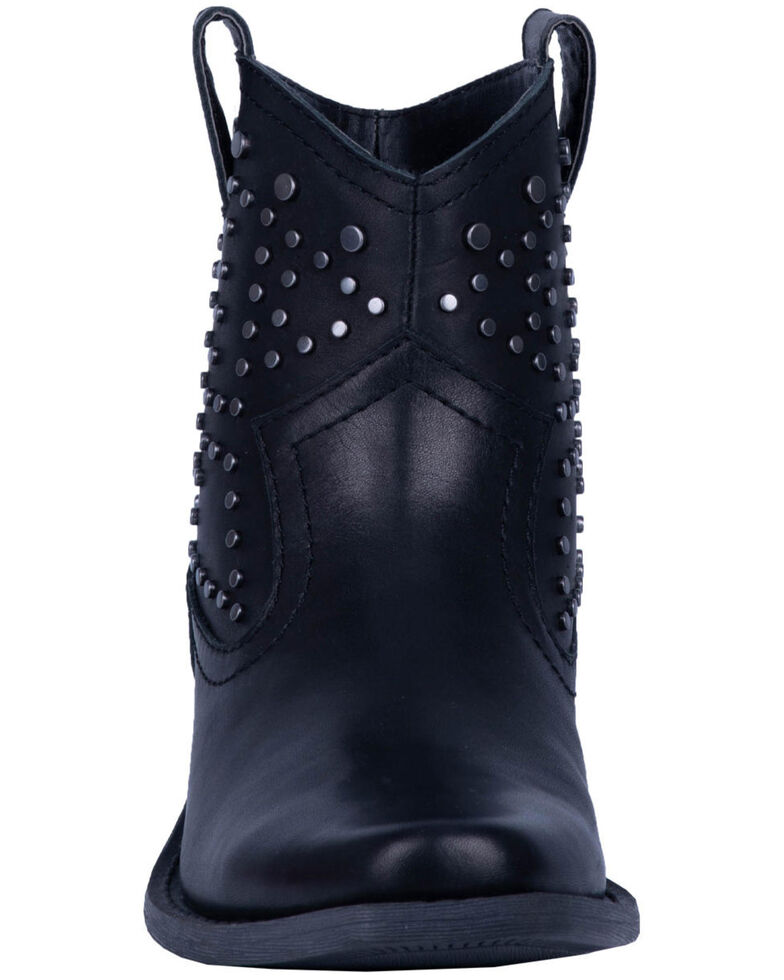 Dingo Women's Dusty Studded Booties - Snip Toe, Black, hi-res
