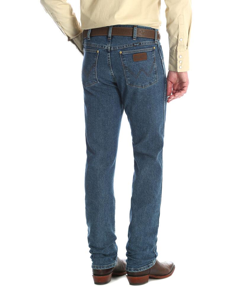 dff98d32 Zoomed Image Wrangler Men's Premium Performance Cool Vantage Slim Fit  Cowboy Cut Jeans, Indigo, hi-