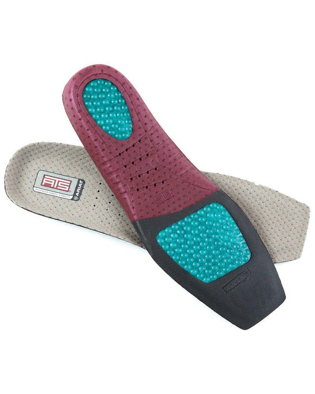 Ariat Men/'s Round Toe ATS Multi Footbed Insoles