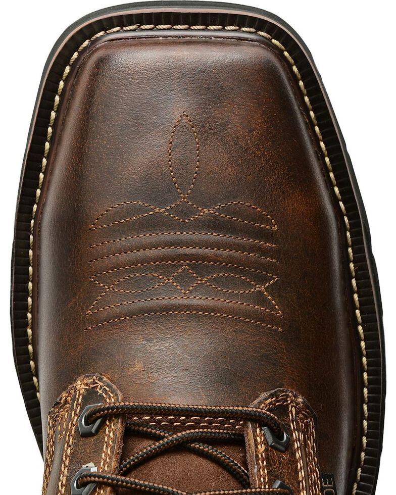 831d899180096 Zoomed Image Justin Men's Stampede Steel Toe Lace-Up Work Boots, Rugged,  hi-res