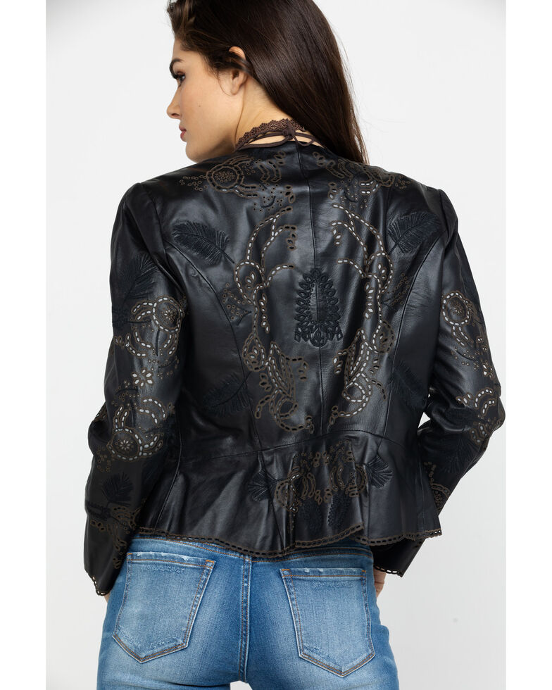 Scully Women S High Low Leather Jacket Boot Barn