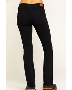 Women's Dickies Perfect Shape Bootcut Stretch Denim Jeans, Black, hi-res