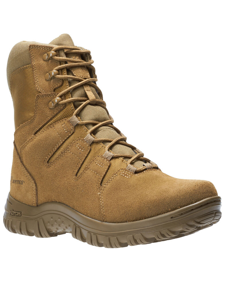 Bates Men's Maneuver Hot Weather Tactical Boots - Soft Toe, Tan, hi-res