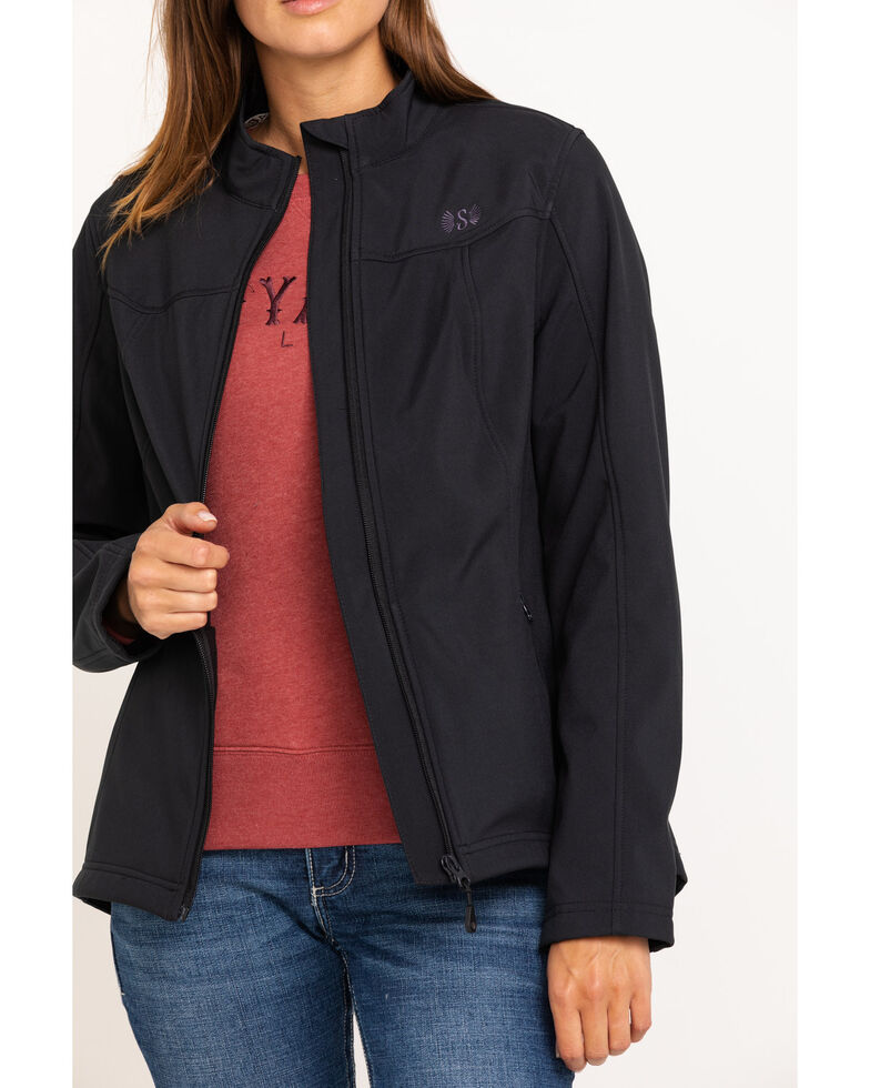 Shyanne Life Women's Black Softshell Jacket, Black, hi-res
