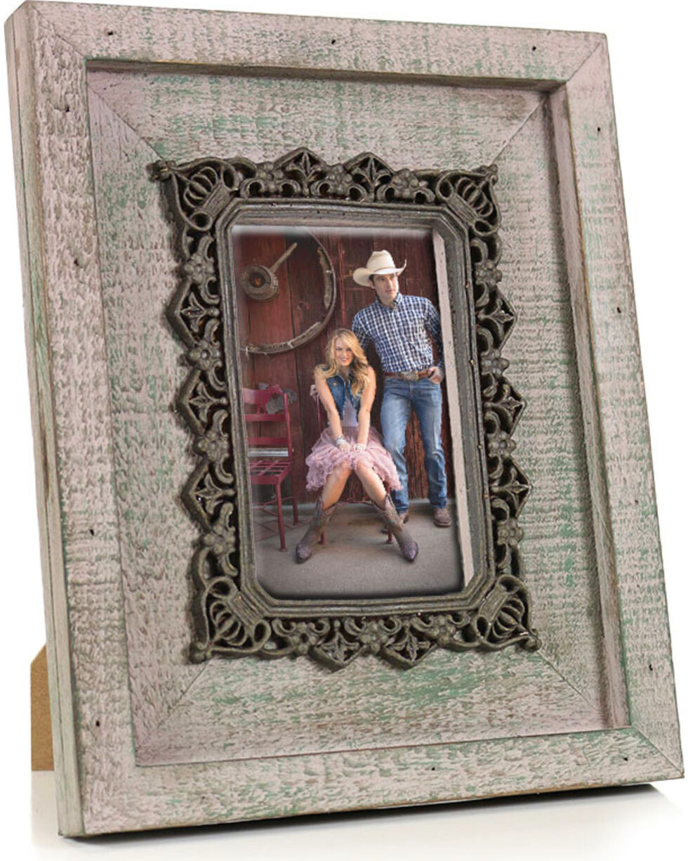 Stonebriar Weathered Wood Picture Frame, No Color, hi-res